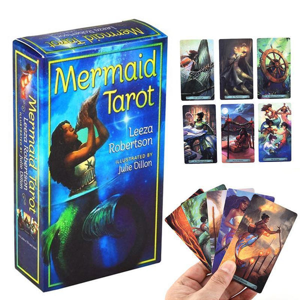 Mermaid Tarot-Tarot / Oracle Decks-The Scarlet Sage Herb Co.