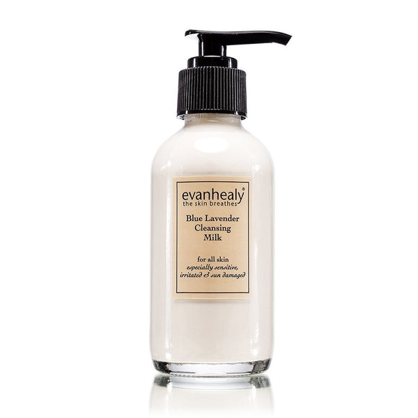 evanhealy Blue Lavender Cleansing Milk 4oz-Skincare-The Scarlet Sage Herb Co.