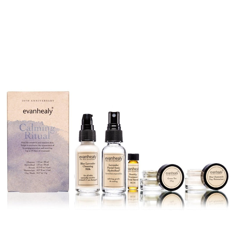 evanhealy Calming Ritual Kit-Skincare-The Scarlet Sage Herb Co.