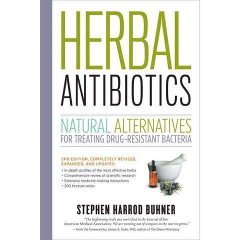 Herbal Antibiotics - Stephen Buhner-Books-The Scarlet Sage Herb Co.