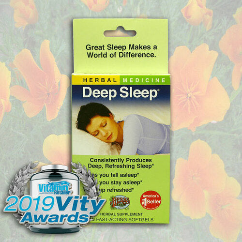 Herbs Etc Deep Sleep Travel 10ct