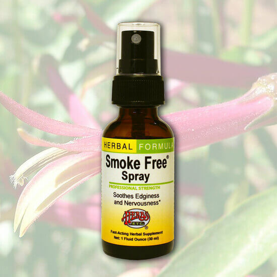 Herbs Etc Smoke Free Spray 1oz