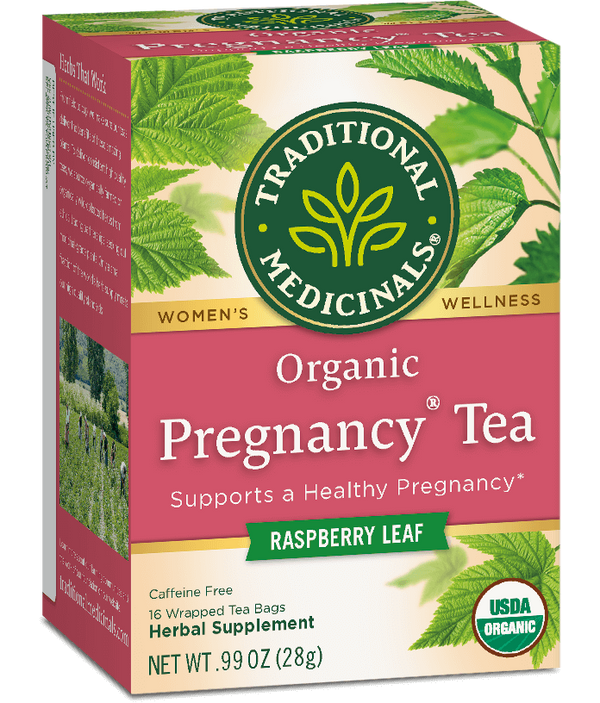 Traditional Medicinals Pregnancy Tea 16ct-Teas-The Scarlet Sage Herb Co.