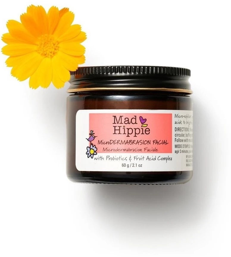 Mad Hippie Microdermabrasion Facial 2.1oz-Facial Skincare-The Scarlet Sage Herb Co.