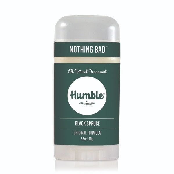 Humble Deodorant Black Spruce 2.5oz-Bodycare-The Scarlet Sage Herb Co.