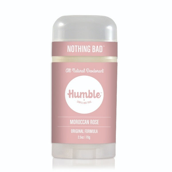 Humble Deodorant Moroccan Rose 2.5oz-Bodycare-The Scarlet Sage Herb Co.