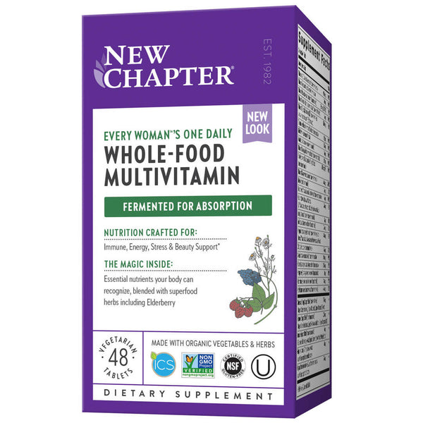 New Chapter Multi Every Woman One Daily-Supplements-The Scarlet Sage Herb Co.