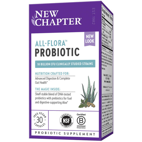 New Chapter All Flora 30ct-Supplements-The Scarlet Sage Herb Co.