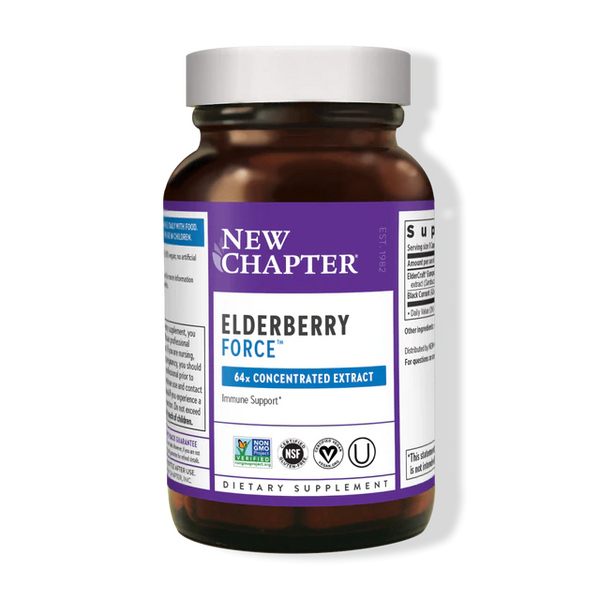 New Chapter Elderberry Force 30ct-Supplements-The Scarlet Sage Herb Co.