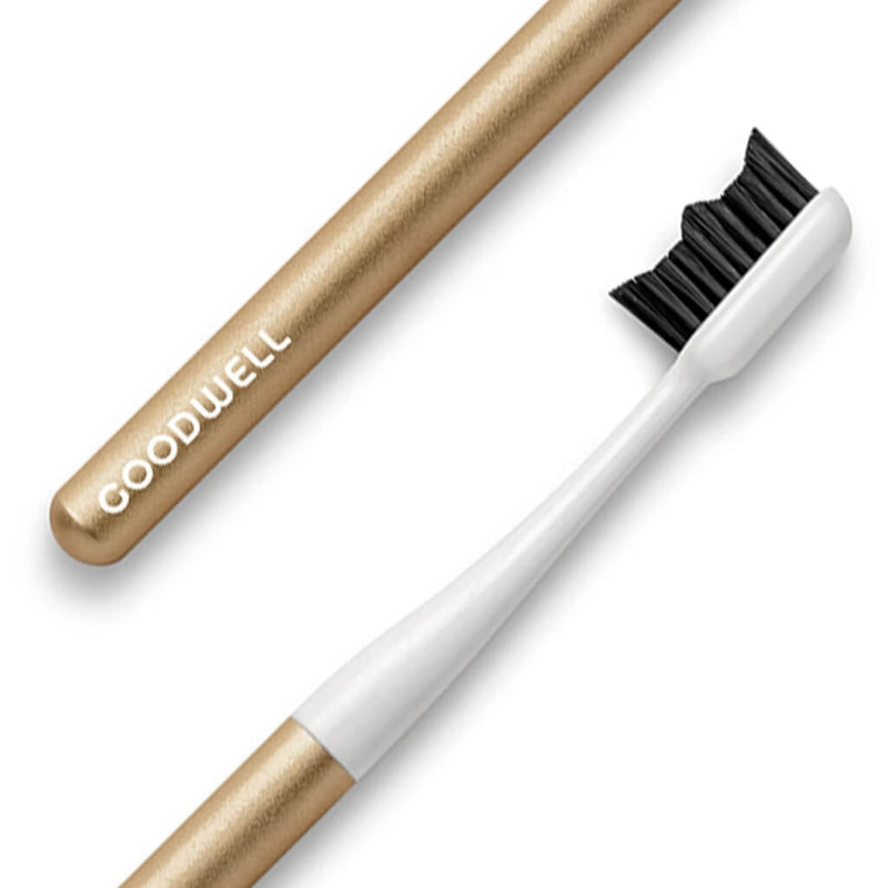Goodwell Co Toothbrush Premium Gold