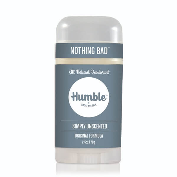 Humble Deodorant Simply Unscented-Bodycare-The Scarlet Sage Herb Co.