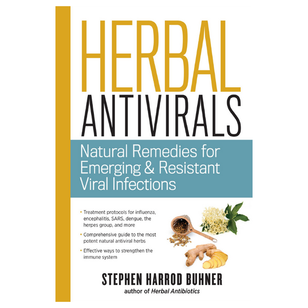 Herbal Antivirals - Stephen Buhner-Books-The Scarlet Sage Herb Co.