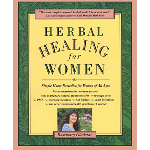 Herbal Healing for Women by Rosemary Gladstar-Books-The Scarlet Sage Herb Co.