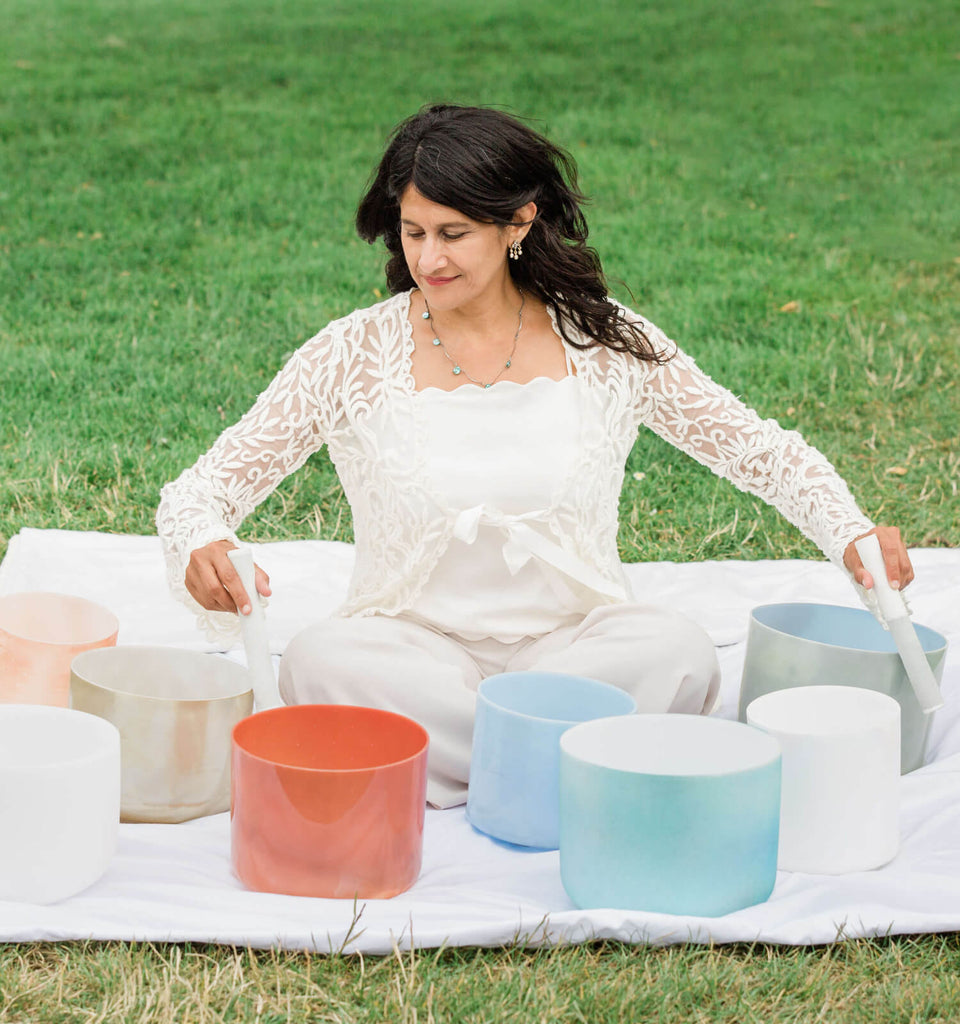 Crystal Singing Bowls Practitioner Certification with Mytrae Meliana - Sept-Nov 2019 - The Scarlet Sage Herb Co.
