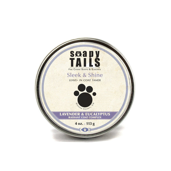 Three Sisters Apothecary Soapy Tails Coat Tamer 4oz-Pet Care-The Scarlet Sage Herb Co.
