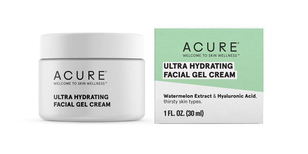 Acure Facial Gel Cream Hydrating 30ml-Bodycare-The Scarlet Sage Herb Co.