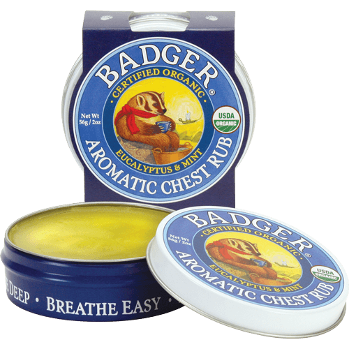 Badger Balm Aromatic Chest Rub - The Scarlet Sage Herb Co.
