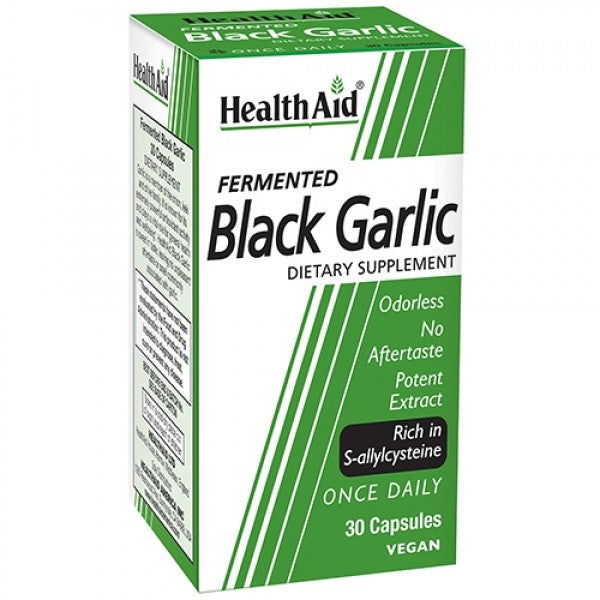 Health Aid Black Garlic 30ct-Supplements-The Scarlet Sage Herb Co.