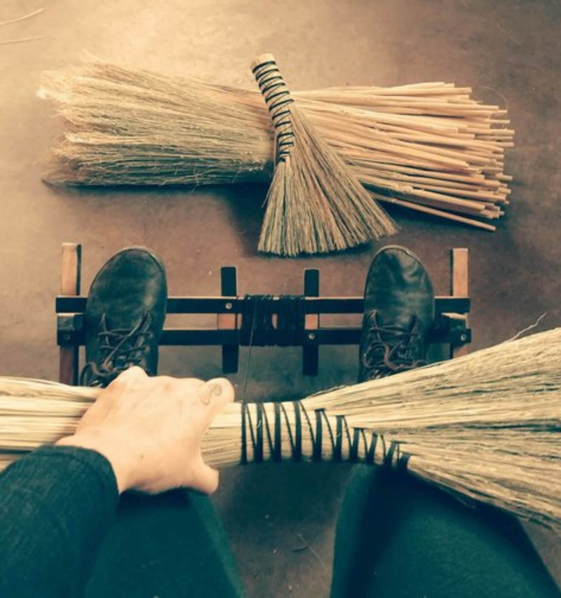 Beginning Broom Craft - Turkey Wing - December 4, 6-9pm - The Scarlet Sage Herb Co.