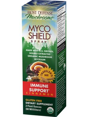 Host Defense MycoShield Cinnamon Spray - The Scarlet Sage Herb Co.
