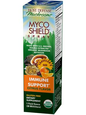 Host Defense MycoShield Citrus Spray 1oz - The Scarlet Sage Herb Co.