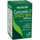 Health Aid Curcumin 3 30ct-Supplements-The Scarlet Sage Herb Co.