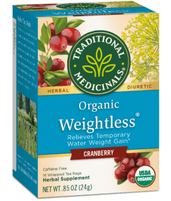 Traditional Medicinals Weightless Cranberry 16Ct