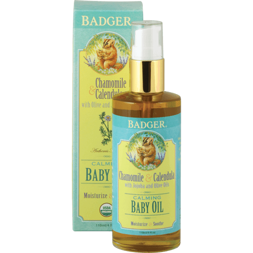 Badger Baby Oil 4oz - The Scarlet Sage Herb Co.