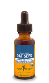 Herb Pharm Oat Seed 4oz-Tinctures-The Scarlet Sage Herb Co.
