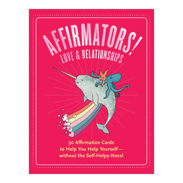 Affirmators! Love And Relationships Cards-The Scarlet Sage Herb Co.