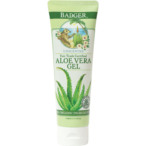 Badger Aloe Vera Gel 4oz - The Scarlet Sage Herb Co.