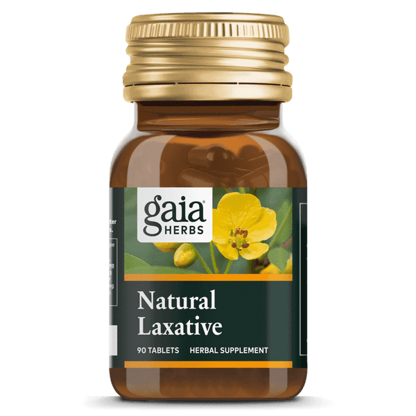 Gaia Herbs Natural Laxative 90Ct-Supplements-The Scarlet Sage Herb Co.