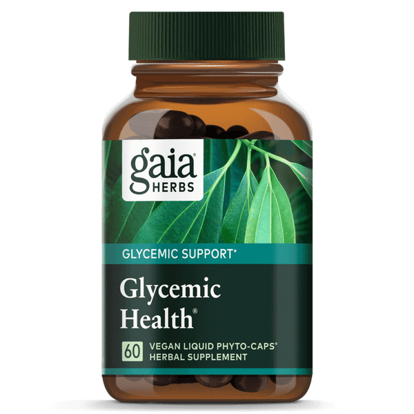 Gaia Herbs Glycemic Health 60ct-Supplements-The Scarlet Sage Herb Co.