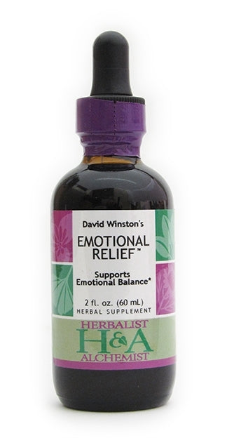 Herbalist & Alchemist Emotional Relief-Tinctures-The Scarlet Sage Herb Co.