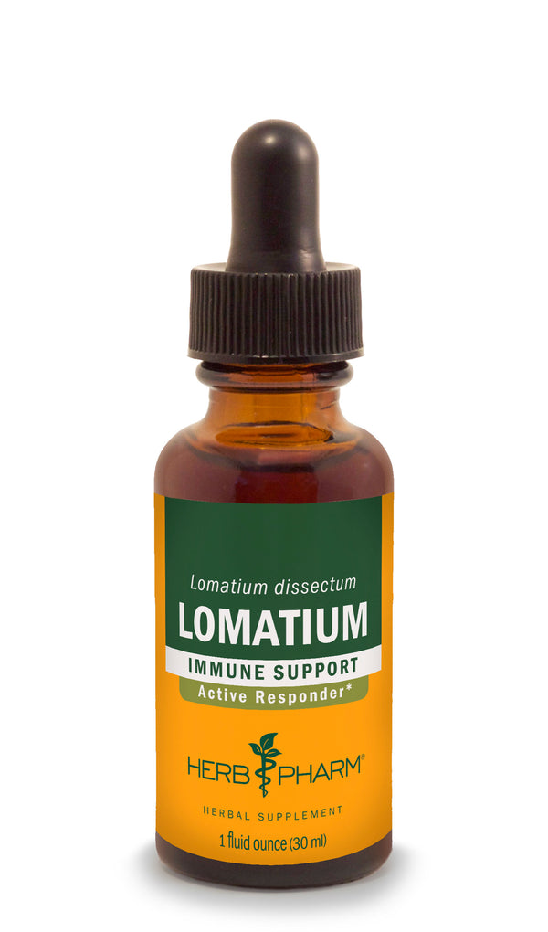 Herb Pharm Lomatium 1oz-Tinctures-The Scarlet Sage Herb Co.