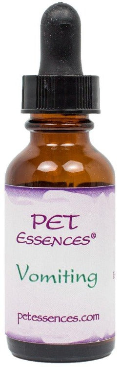 Energetic Pet Essences Vomiting-Flower Essences-The Scarlet Sage Herb Co.