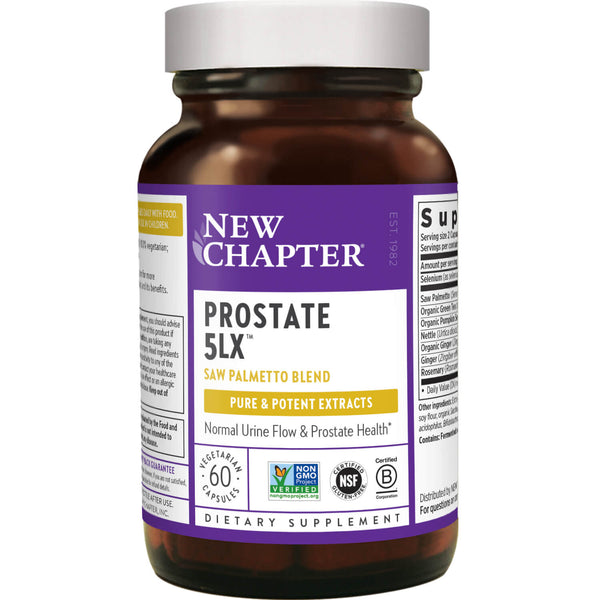 New Chapter Prostate 5LX 60ct-Supplements-The Scarlet Sage Herb Co.