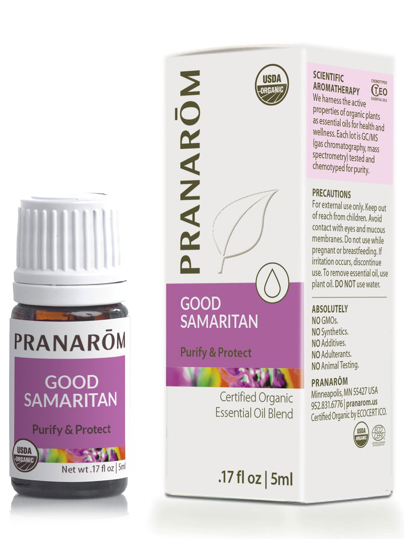 Pranarom Good Samaritan 5ml-Aromatherapy-The Scarlet Sage Herb Co.