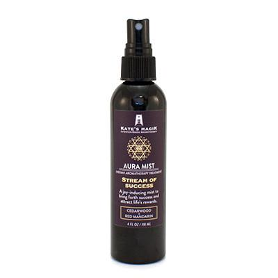 Kate's Magik Aura Mist Stream Of Success 4oz - The Scarlet Sage Herb Co.