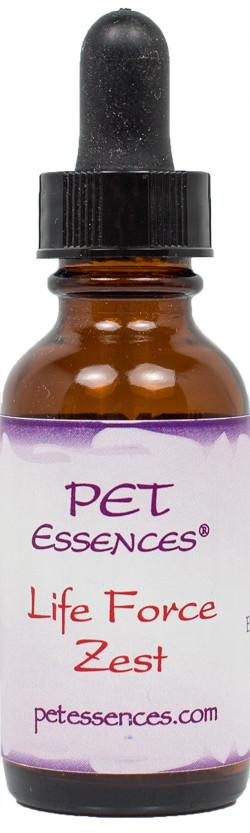Energetic Pet Essences Life Force Zest-Flower Essences-The Scarlet Sage Herb Co.