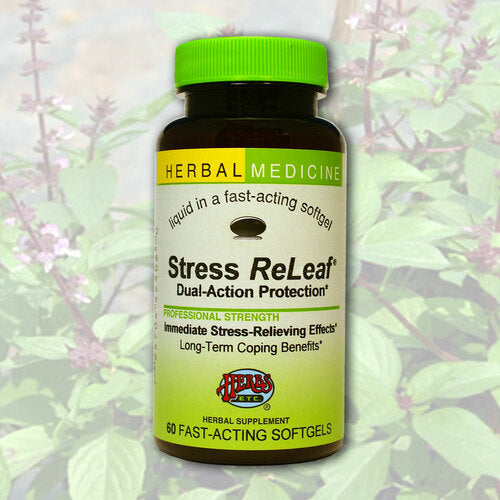 Herbs Etc Stress ReLeaf 60ct-Supplements-The Scarlet Sage Herb Co.