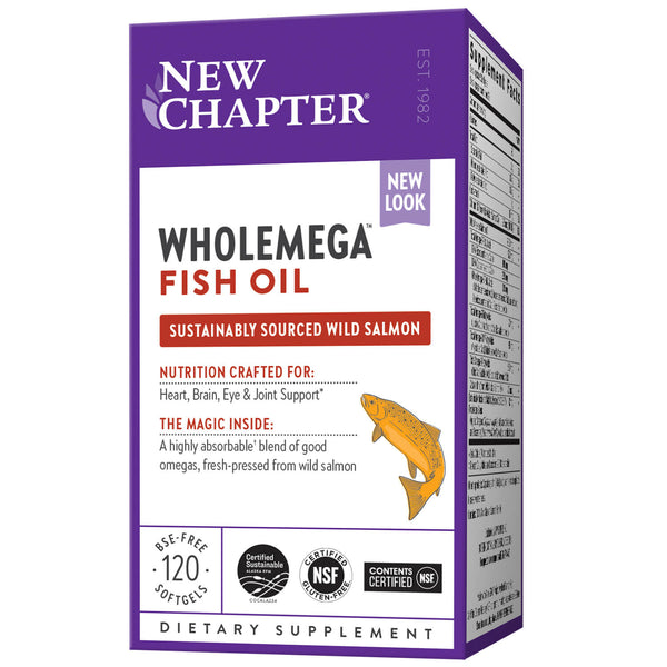 New Chapter Wholemega-Supplements-The Scarlet Sage Herb Co.