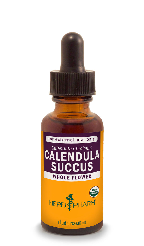 Herb Pharm Calendula Succus 1oz-Tinctures-The Scarlet Sage Herb Co.