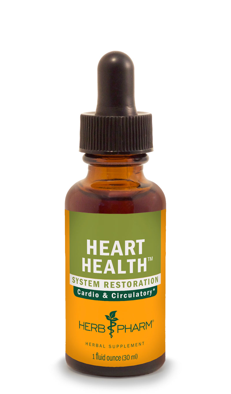 Herb Pharm Heart Health 4oz-Tinctures-The Scarlet Sage Herb Co.