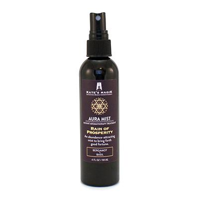 Kate's Magik Aura Mist Rain Of Prosperity 4oz - The Scarlet Sage Herb Co.