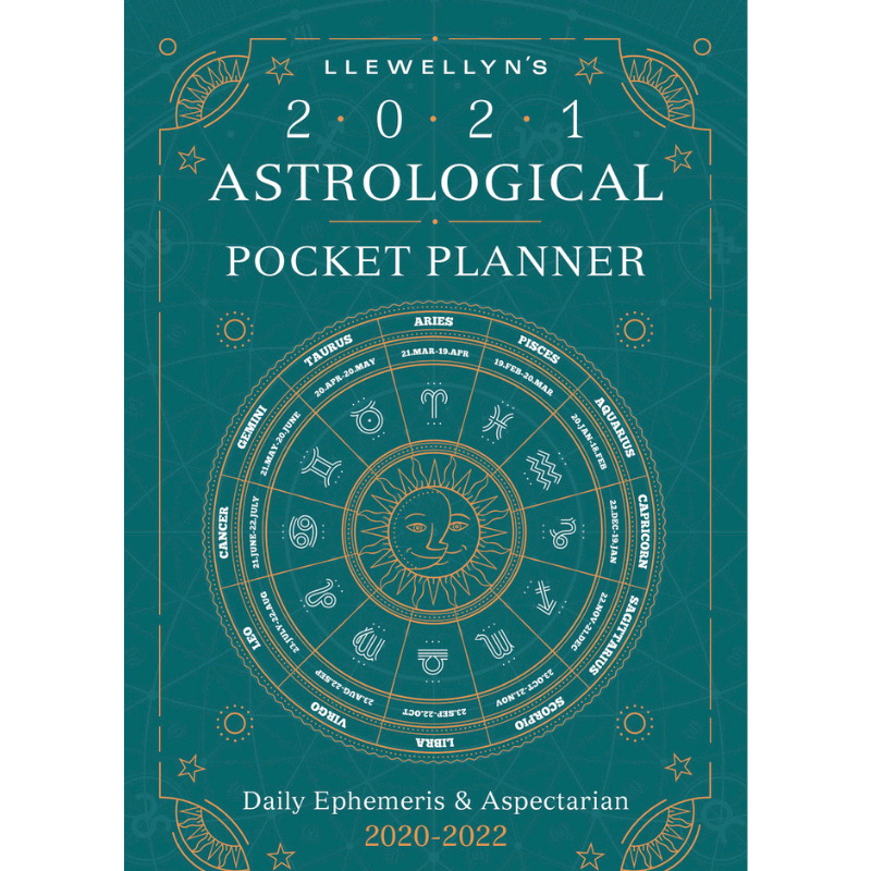 Llewellyn's 2021 Astrological Pocket Planner-Journals / Calendars-The Scarlet Sage Herb Co.