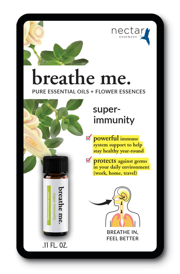 Nectar Essences Breathe Me Super Immunity .11 fl oz. - The Scarlet Sage Herb Co.
