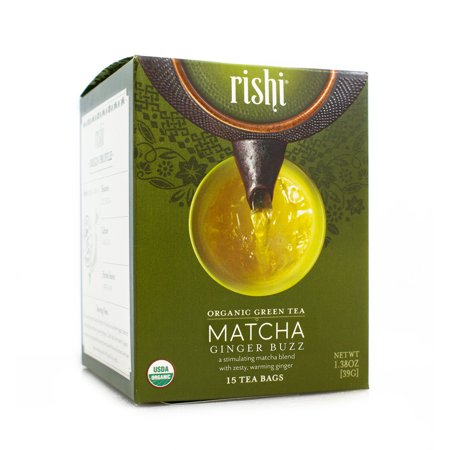 Rishi Tea Matcha Ginger Buzz-Teas-The Scarlet Sage Herb Co.