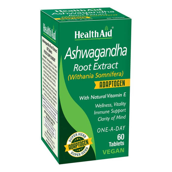 Health Aid Ashwagandha 60ct
