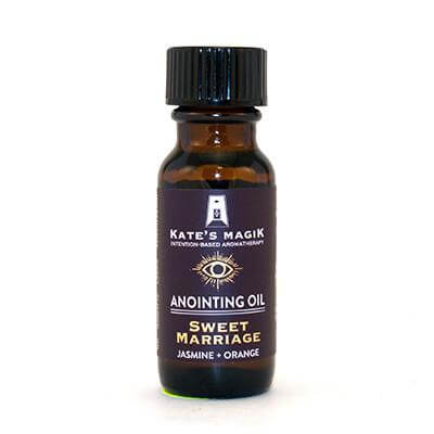 Kate's Magik Anointing Oil Sweet Marriage .5oz - The Scarlet Sage Herb Co.